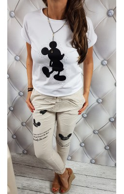 T-SHIRT MOUSE WHITE