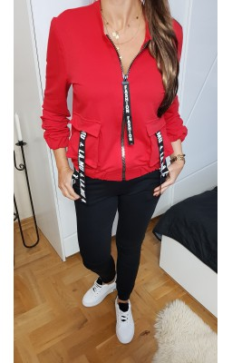 BLUZA BOMBERKA RED FASHION