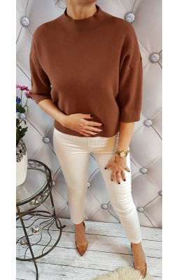 SWETER DOLCE PICCANTE BROWN