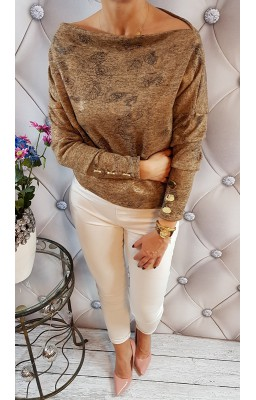 SWETER MIA BROWN