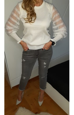 SWETER COCO WHITE