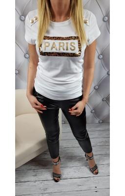 BLUZKA PARIS WHITE